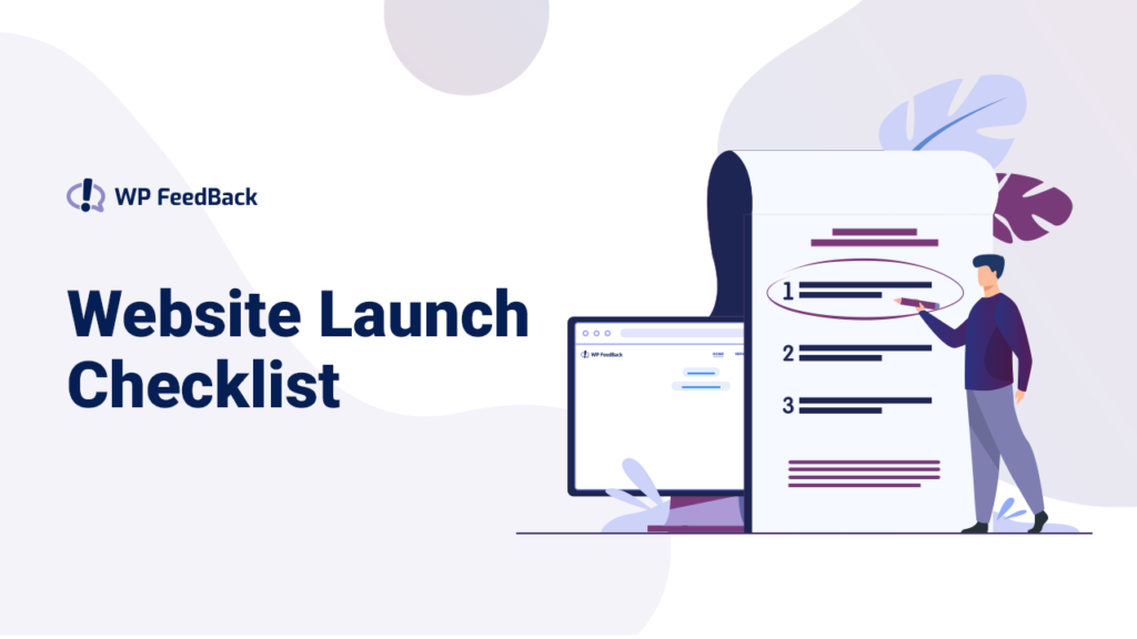 26 Things To Check Before, During, and After Launching a Website